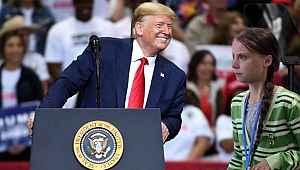 Trump ile iklim aktivisti Greta Twitter'da atıştı