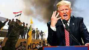 Trump, Irak'taki Amerikan Büyükelçiliği'ne yönelik saldırı için komşu ülkeyi suçladı