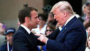 Trump'tan NATO'yu hedef alan Macron'a sert tepki