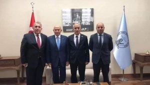 Türkiye Futbol Federasyonu Başkanı Özdemir Yenişehir'de - Bursa Haberleri