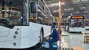 Türkiye'nin önde gelen otobüs üreticisi, üretimi durdurdu