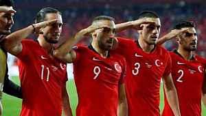 UEFA, Milli Takım'ın asker selamında skandal karara imza attı