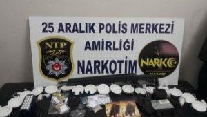 Uyuşturucu satıcısı olduğu iddia edilen 5 kişi yakalandı