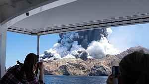 Yanardağ patlamasında ölenlerin sayısı 5'e yükseldi