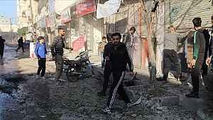 YPG/PKK'lı teröristlerin Azez'e roketli saldırısında yaralananlar Kilis'e getiriliyor