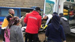 Zeytin toplamak için evden çıkan yaşlı kadın, 14 saat sonra bitkin halde bulundu