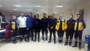 112 çalışanları deprem anında görev yerlerini terk etmedi