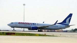 AnadoluJet'in yurt dışındaki uçuşları belli oldu