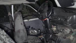 Antalya'da şarampole yuvarlanan araçta: 1 ölü, 1 yaralı