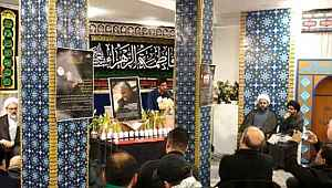Avrupa'nın kalbinde 'Süleymani' için şehit töreni düzenlendi