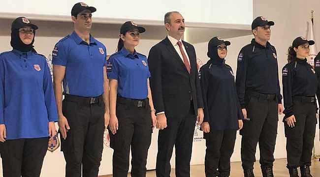 Bakan Gül infaz ve koruma memurlarının yeni kıyafetlerini tanıttı