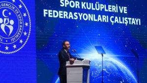 """Bakan Kasapoğlu: """"Meclisimiz, Spor Kulüpleri ve Federasyonları Yasasıyla ilgili konuyu yakın bir zamanda gündemine alacak"""""""