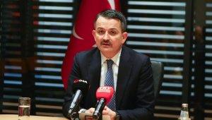 """Bakan Pakdemirli'den sağlıklı gıda açıklaması: """"Türkiye sağlıklı gıda üreten bir ülkedir"""""""