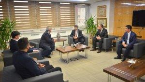 Balkanlardan Başkan Yılmaz'a ziyaret - Bursa Haberleri