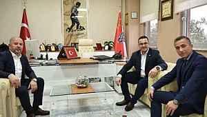 Başkan Kanar'dan Emniyet Müdürü Mithat Öztaş'a ziyaret - Bursa Haberleri