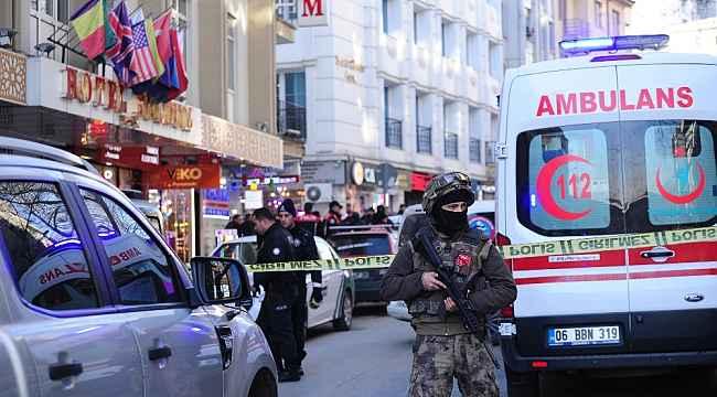 Başkent'te korku dolu anlar yaşatan şahıs ikna edilerek gözaltına alındı