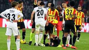 Beşiktaş, kural hatası yapıldığı gerekçesiyle TFF'ye başvurdu