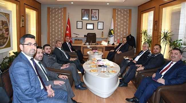 Bursa Valisi Canbolat'tan Başkan Taban'a ziyaret - Bursa Haberleri