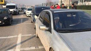 Bursa'da trafiği kilitleyen kaza - Bursa Haberleri