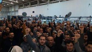 Bursa'daki otomotiv yan sanayi fabrikasında işçiler ayaklandı - Bursa Haberleri
