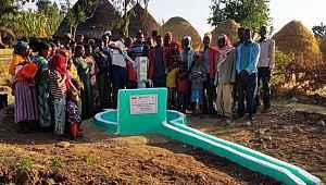 Bursalı hayırseverler Etiyopya'da açtıkları su kuyusu ile gönülleri fethetti - Bursa Haberleri
