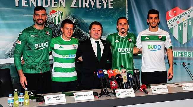 Bursaspor'da dörtlü imza - Bursa Haberleri