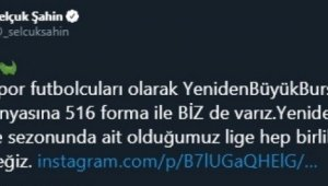 Bursasporlu futbolculardan kampanyaya destek - Bursa Haberleri