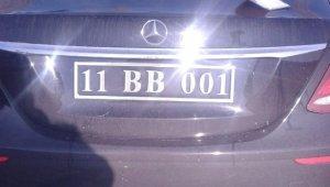 CHP'li Belediye Başkanı, sahte plakalı araçla yakalandı