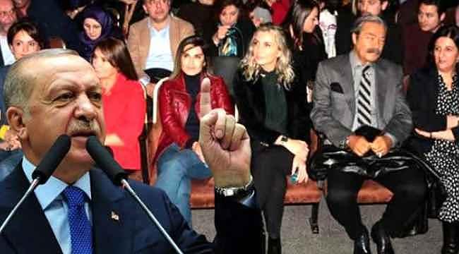 Cumhurbaşkanı Erdoğan'dan Demirtaş tiyatrosuna tepki,