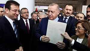 Cumhurbaşkanı Erdoğan'dan İmamoğlu'nun kendisine verdiği mektupla ilgili açıklama: Çok farklı şeyler var