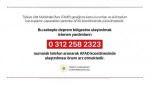 Cumhurbaşkanlığı'ndan, deprem yardımlarıyla ilgili açıklama!
