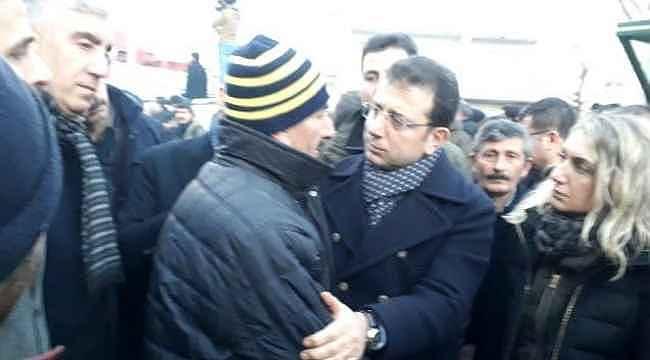 Deprem bölgesini ziyaret Ekrem İmamoğlu'dan vatandaşın isteği damga vurdu!