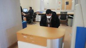 'Domuz gribi' şüphesiyle Devlet Hastanesi acildeki kırmızı alanı kapattı