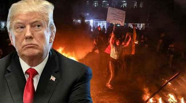 Donald Trump'ın barış planı sonrası öfkelenen Filistin halkı, sokağa indi