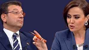 Ekrem İmamoğlu ve Didem Arslan arasında canlı yayında ortamı geren tartışma