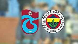 Fenerbahçe-Trabzonspor maçı için flaş karar