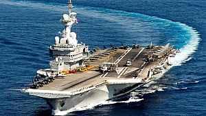 Fransa'dan çok tartışılacak hamle! Ortadoğu'ya uçak gemisi gönderiyor!
