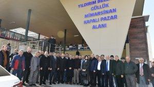 Güllük ve Mimarsinan'a modern pazar yeri - Bursa Haberleri