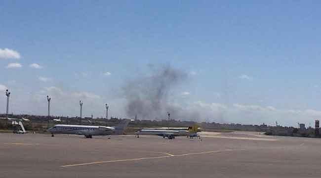 Hafter milisleri, Libya'nın dünyaya açılan kapısı Mitiga Havalimanı'nı vurdu