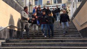 Iraklı iş adamının katil zanlıları adliyeye sevk edildi