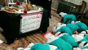 İranlı çocuklar, Süleymani fotoğrafının önünde secde ettirildi