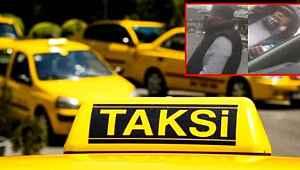 İstanbul'da taksici terörü... Aracın önünü kesip evrak kontrolü yaptılar
