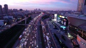 İstanbul'un araç sayısı 21 ilin nüfusu kadar