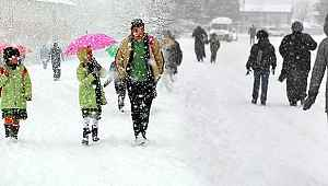 Kar tatili olan iller! 10 Ocak 2020 hangi illerde okullara kar tatili verildi? İşte 10 Ocak 2019 Cuma tarihinde kar tatili olan okullar ve iller