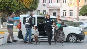 Karı-koca suç makineleri Manavgat'ta yakalandı