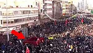 Kasım Süleymani'nin cenazesi Tahran meydanında gezdirildi