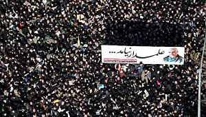Kasım Süleymani'yi son yolculuğuna yüz binler uğurluyor