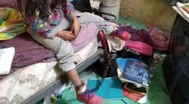 Kız çocuğuna yapılanlar görenleri kahretti... Derhal polise haber verdiler