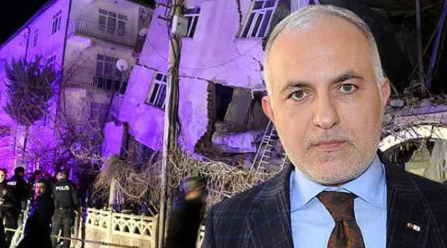 Kızılay Başkanı, 6.8 şiddetindeki Elazığ depremi sonrası paylaşımına tepki yağınca paylaşımını sildi!