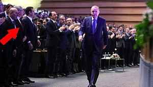 Kongrede dikkat çeken fotoğraf... Alkışlamadılar